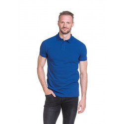 L&S Heavy Mix Fit Polo Short Sleeves