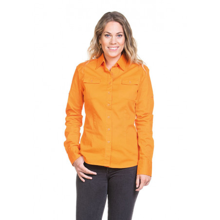 L&S Shirt Twill LS for her