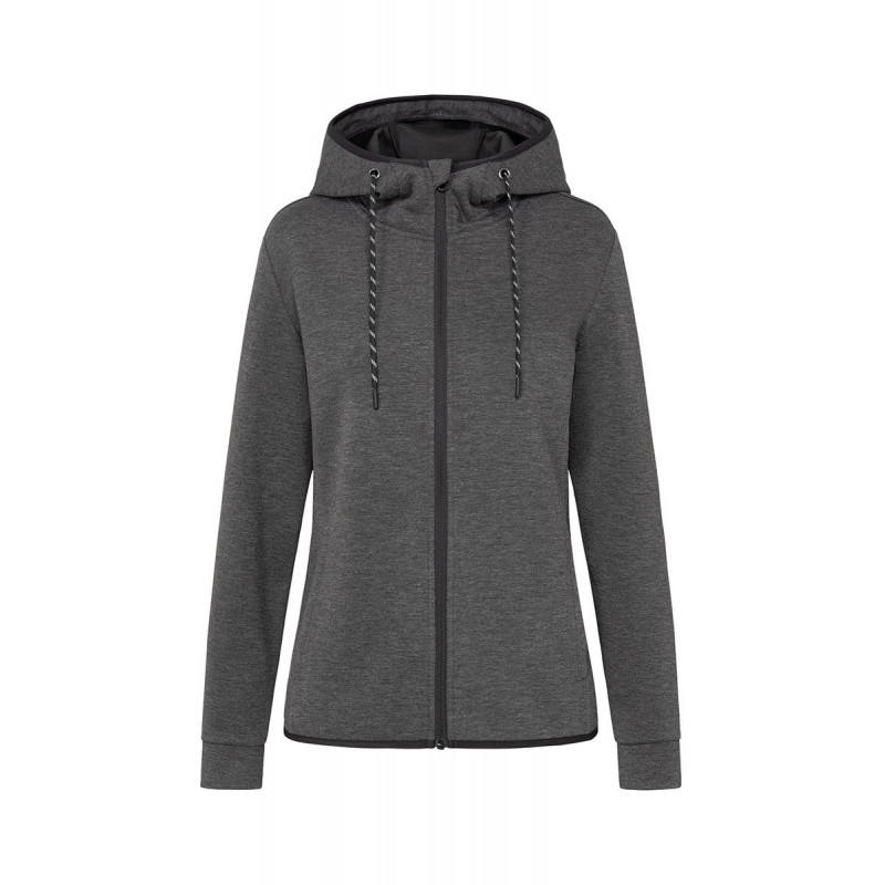 Stedman Jacket Hooded Scuba for her STE5940 Antra Heather XS
