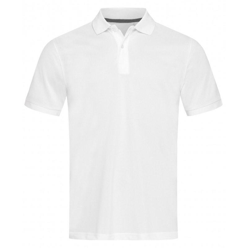 Stedman Polo Pique Active-Dry SS for him STE8050 White S