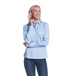 L&S Shirt Poplin Mix LS for her