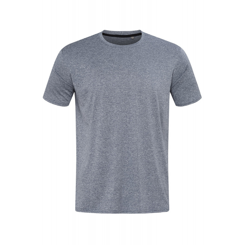 Stedman T-shirt Active dry T move SS for him STE8830 Denim Heather S