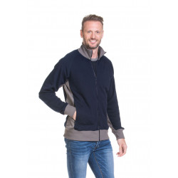 L&S Sweater Cardigan Workwear