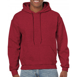Gildan Sweater Hooded HeavyBlend for him GIL18500 7427 Antique Cherry Red S