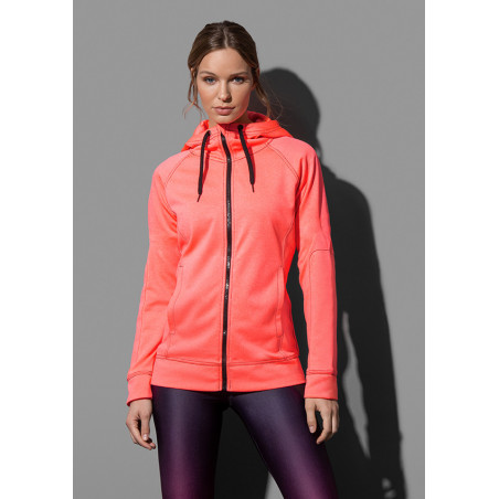 Stedman Sweater Hooded Zip Performance for her