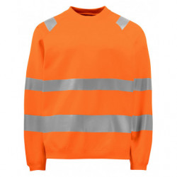 PROJOB 6106 SWEATSHIRT ORANGE 3XL