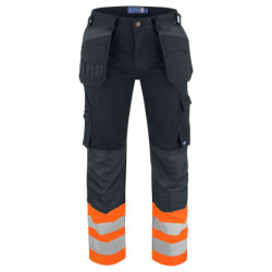 PROJOB 6530 WAISTPANT ORANGE/BLACK C42