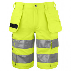 PROJOB 6535 SHORTS HV CL 1 YELLOW/BLACK C44