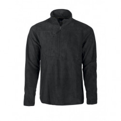 PROJOB 2319 FLEECE HALF ZIP BLACK L