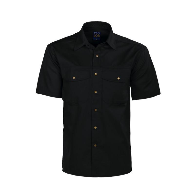 PROJOB 4201 S.S SHIRT BLACK L