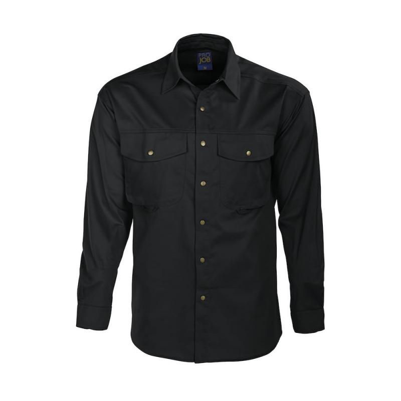 PROJOB 5203 SHIRT BLACK L