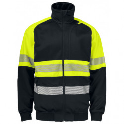 PROJOB 6120 SWEATSHIRT HV CL 1 YELLOW/BLACK 4XL