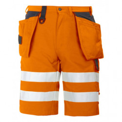PROJOB 6503 SHORTS HV ORANGE/BLACK CL.2 C44