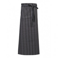 PROJOB 7814 APRON GREY/BLACK ONE SIZE