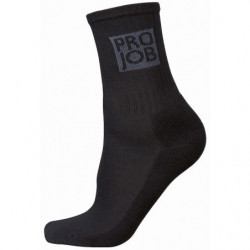 PROJOB 9012 HALF TERRY SOCK 7-PCS BLACK 36-39