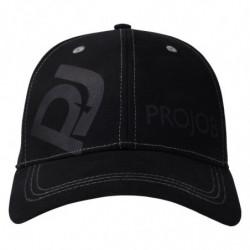 PROJOB 9062 LOGO FLEX CAP BLACK ONE