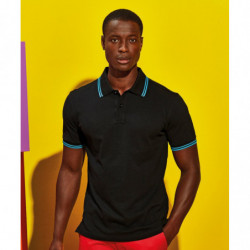 Asquith & Fox AQ011 Men's classic fit tipped polo
