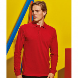 Asquith & Fox AQ030 Men's classic fit long sleeved polo