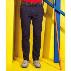 Asquith & Fox AQ052 Men's slim fit cotton chinos