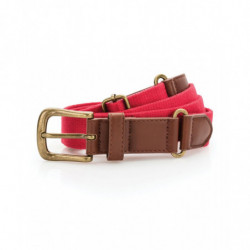 Asquith & Fox AQ902 Faux leather and canvas belt