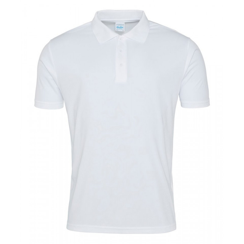 AWDis Just Cool JC021 Cool smooth polo Arctic White 2XL