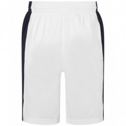 AWDis Just Cool JC089 Cool panel shorts Arctic White/French Navy 2XL