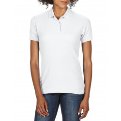 Gildan Polo DryBlend Double Pique SS for her GIL75800L 000 White S