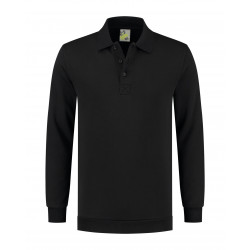 L&S Polosweater Workwear Uni LEM4701 Black S